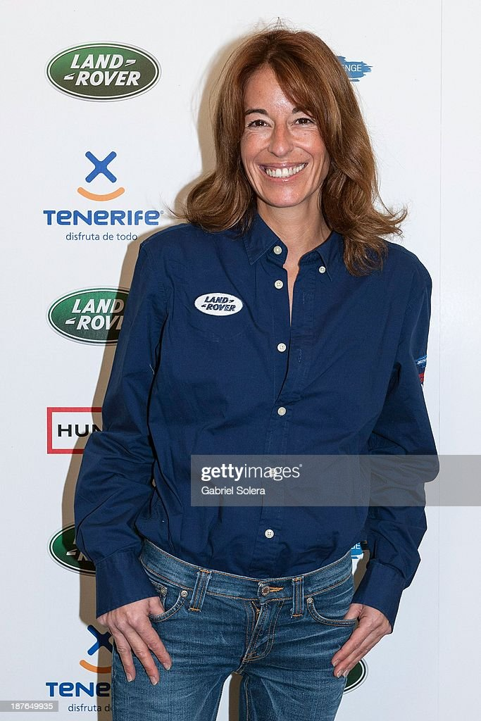 Monica Martin Luque attends III Land Rover Discovery Challenge 2013 at Barajas Airport on November 11 2013 in Madrid Spain