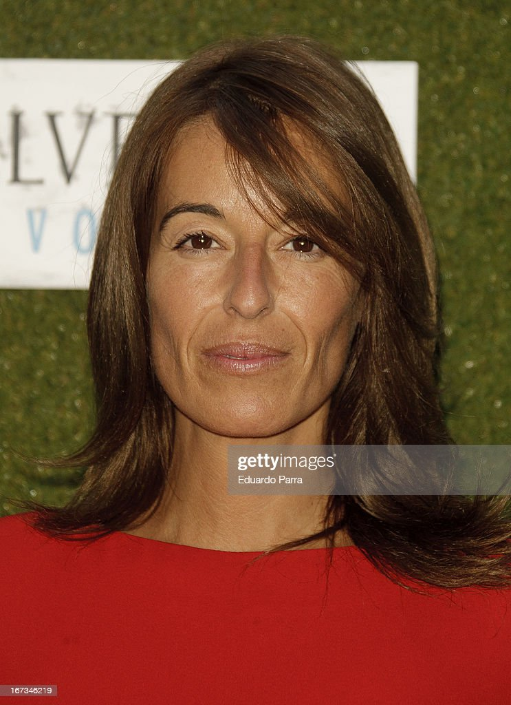 Monica Martin Luque attends 'Jardin de los Macerados' inauguration by Belvedere Vodka photocall on April 24, 2013 in Madrid, Spain.