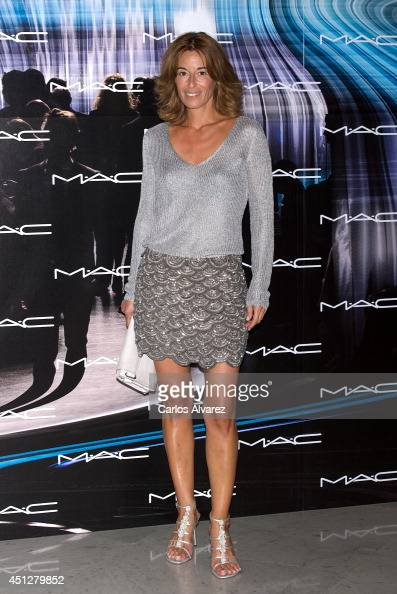 Monica Martin Luque attends MAC Make Up catwalk at the Italian Embassy on June 26 2014 in Madrid Spain