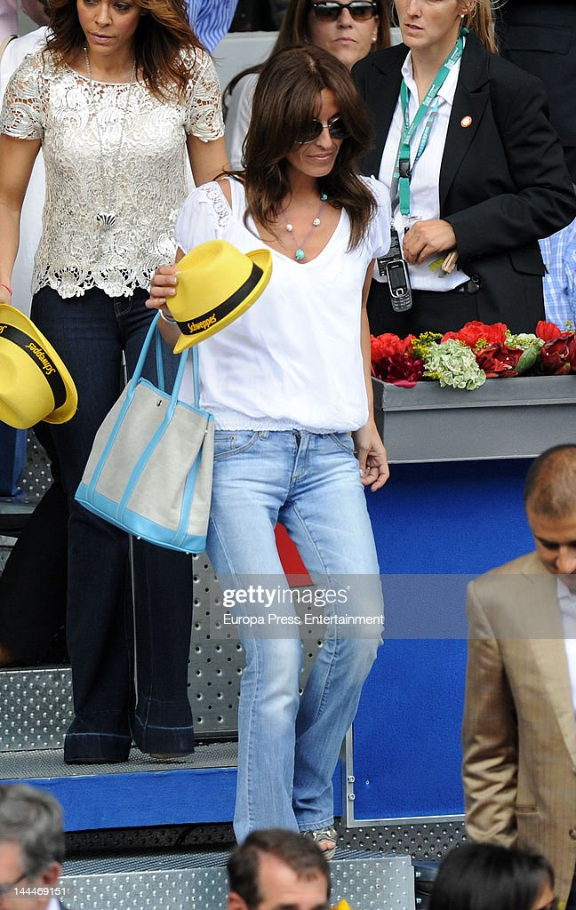 Monica Martin Luque attends Mutua Madrilena Madrid Open on May 13, 2012 in Madrid, Spain.