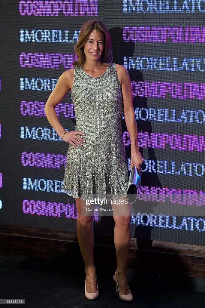 Monica Martin Luque attends the Cosmopolitan Beauty Awards at the Platea Restaurant on July 7 2014 in Madrid Spain