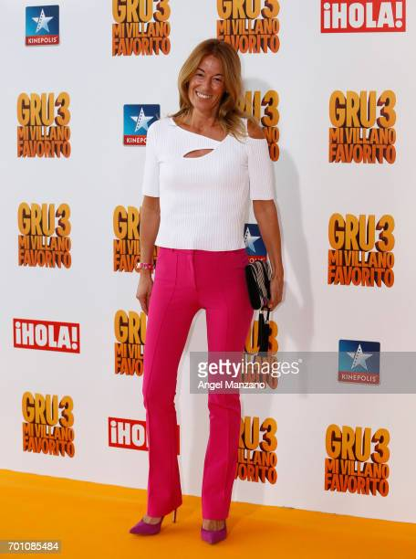 Monica Martin Luque attends the 'Despicable Me 3' premiere at Kinepolis cinema on June 22 2017 in Madrid SPAIN