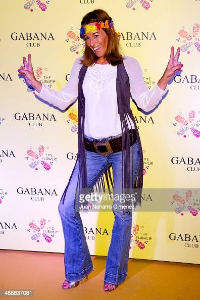 Monica Martin Luque attends 'The Flower Party' at Gabana Club on May 8 2014 in Madrid Spain