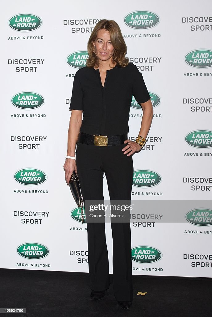Monica Martin Luque attends the Land Rover Discovery Sport party at the Cibeles Palace on November 13 2014 in Madrid Spain