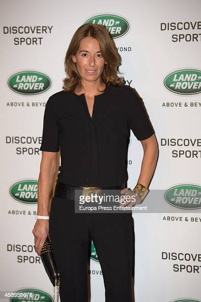 Monica Martin Luque attends the presentation of Land Rover Discovery Sport on November 13 2014 in Madrid Spain