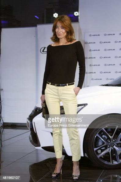 Monica Martin Luque attends the presentation of Lexus CT 200h Hibrid on April 1 2014 in Madrid Spain