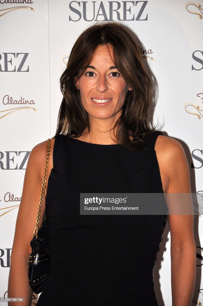 Monica Martin Luque attends the presentation of the charity bracelet by Suarez and Aladina Foundation on November 20, 2012 in Madrid, Spain.