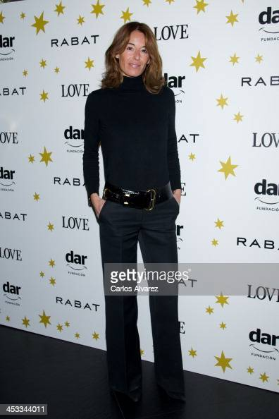 Monica Martin Luque attends the 'Stars Charity' event at the Rabat Jewelry on December 3 2013 in Madrid Spain