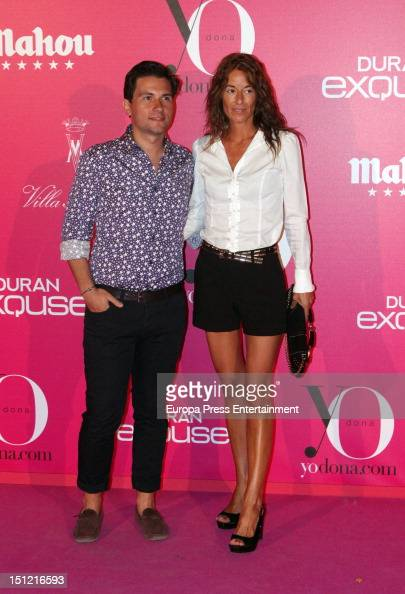Monica Martin Luque attends the 'Yo Dona' Magazine cocktail at Villa Magna Hotel on September 3 2012 in Madrid Spain