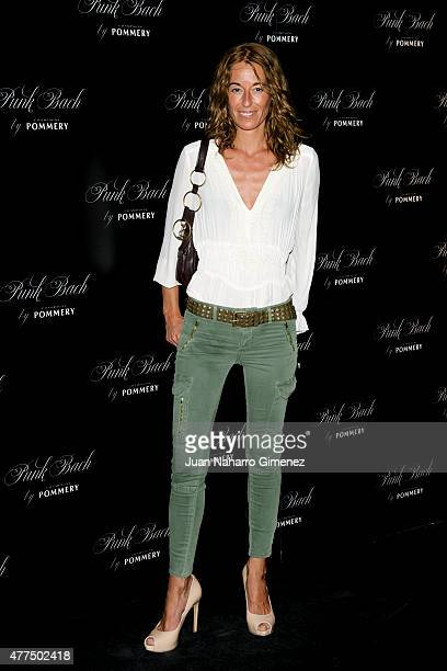 Monica Martin Luque attends to the inauguration of the 'Punk Bach Terrace' at Punk Bach on June 17 2015 in Madrid Spain
