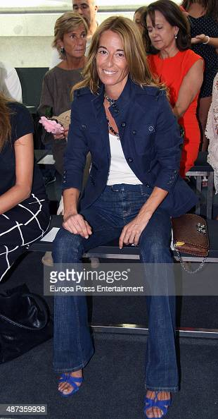 Monica Martin Luque attends TRESemme MFShow on September 8 2015 in Madrid Spain