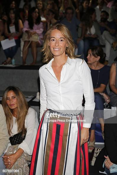 Monica Martin Luque is seen attending MercedesBenz Fashion Week Madrid Spring/Summer 2017 at Ifema on September 16 2016 in Madrid Spain
