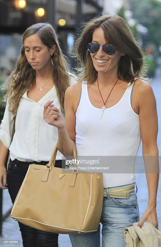 Monica Martin Luque is seen on September 18 2013 in Madrid Spain