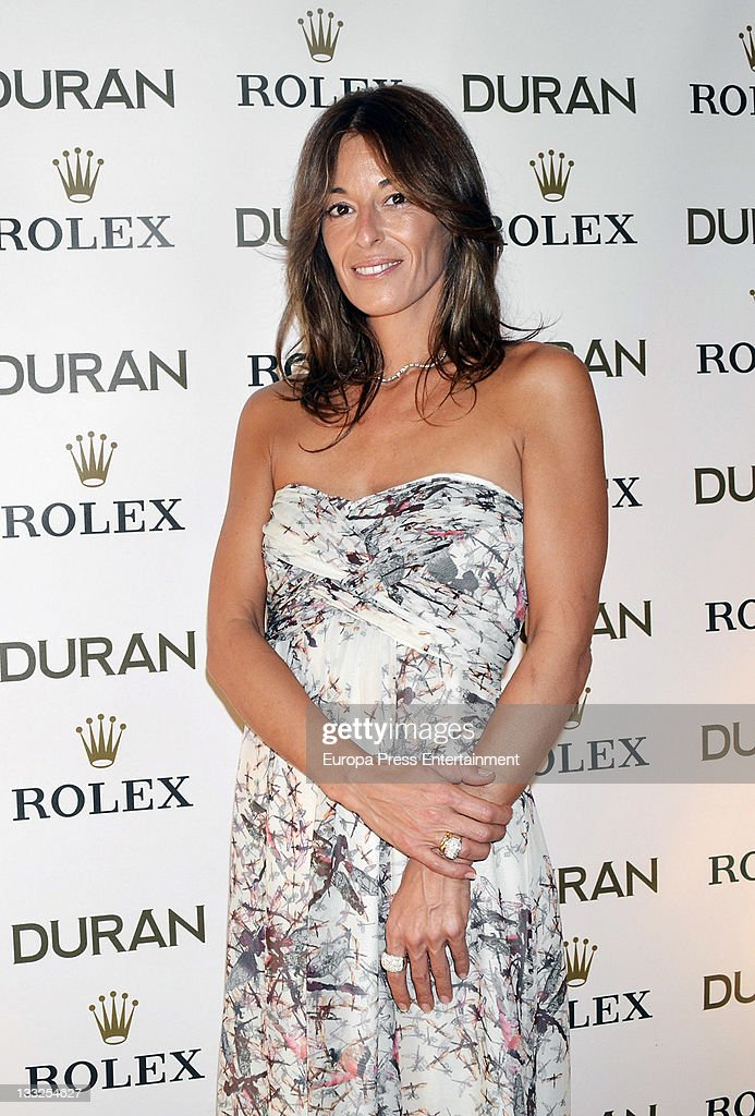 Monica Martin Luque presents a new Rolex watch collection on November 17 2011 in Valencia Spain