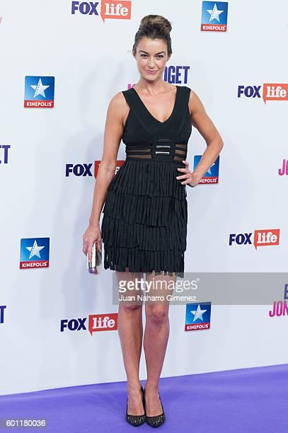Monica Martinez attends 'Bridget Jones Baby' premiere at Kinepolis Cinema on September 9 2016 in Madrid Spain