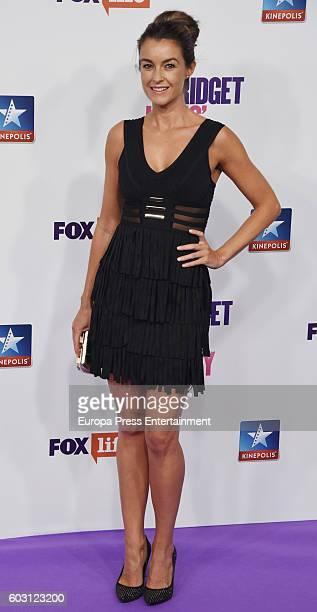 Monica Martinez attends the 'Bridget Jones Baby' premiere at Kinepolis cinema on September 9 2016 in Madrid Spain