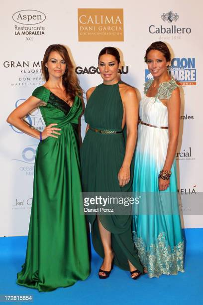 Monica Martinez Raquel Revuelta and Estefania Luyki attend Soul Stars Gala By The Children for Peace ONLUS with Action Against Hunger on July 4 2013...