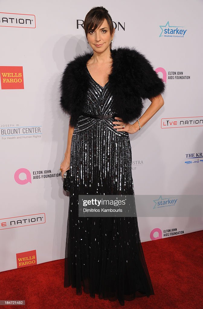 Monica Mitro attends the Elton John AIDS Foundation's 12th Annual An Enduring Vision Benefit at Cipriani Wall Street on October 15, 2013 in New York City.