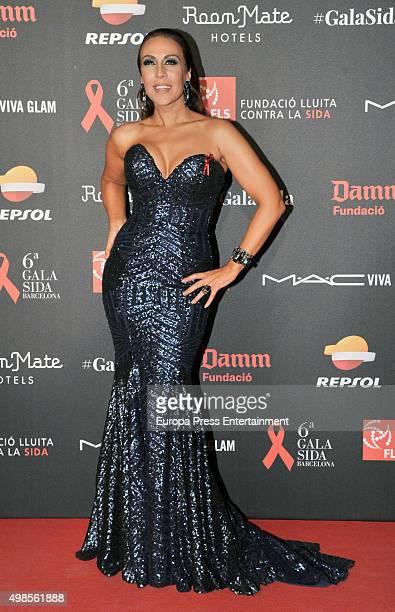 Monica Naranjo attends Gala Against Aids on November 23 2015 in Barcelona Spain