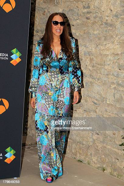 Monica Naranjo attends the presentation for 'Tu Cara Me Suena' during day four of 5th FesTVal Television Festival 2013 at Principal Theater on...
