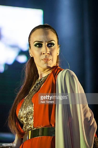 Monica Naranjo performs in concert at Sant Jordi Club on December 12 2014 in Barcelona Spain