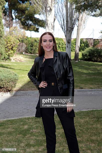 Monica Naranjo presents 'A Bailar' tv show for Antena 3 Tv on March 4 2014 in Madrid Spain