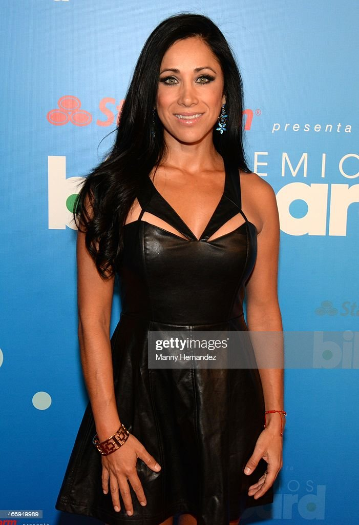 <a gi-track='captionPersonalityLinkClicked' href=/galleries/search?phrase=Monica+Noguera&family=editorial&specificpeople=240248 ng-click='$event.stopPropagation()'>Monica Noguera</a> attends 2014 Billboard Latin Music Awards Press Conference to announce nominations at Gibson Miami Showroom on February 5, 2014 in Miami, Florida.