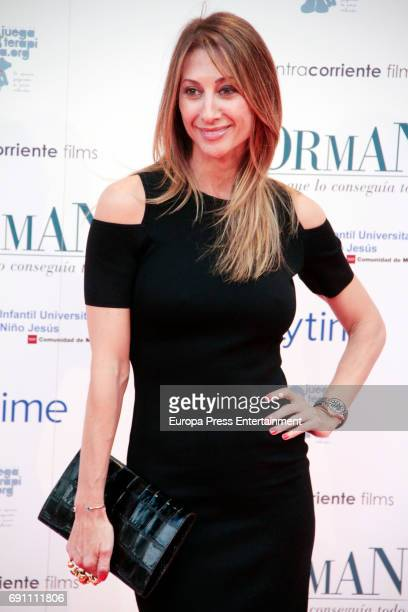 Monica Pont attend the 'Norman The Moderate Rise and Tragic Fall of a New York Fixer' premiere at the Callao cinema on May 31 2017 in Madrid Spain