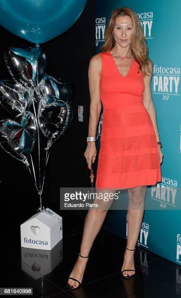 Monica Pont attends the 'Fotocasa party' photocall at Opium disco on May 10 2017 in Madrid Spain