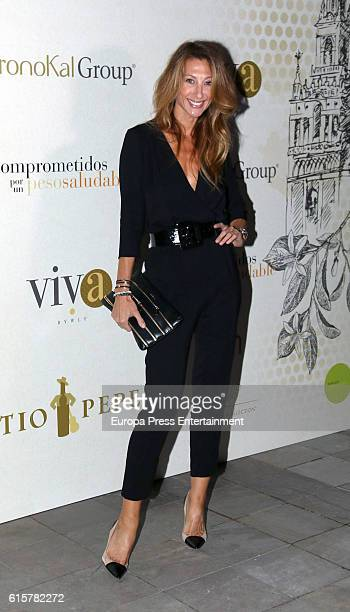 Monica Pont attends the presentation of the 5th We Love Flamenco fashion show at Santo Mauro Hotel on October 19 2016 in Madrid Spain