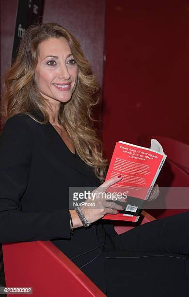 Monica Pont presents the book quotNo estás solaquot in Madrid Spain on November 15 2016