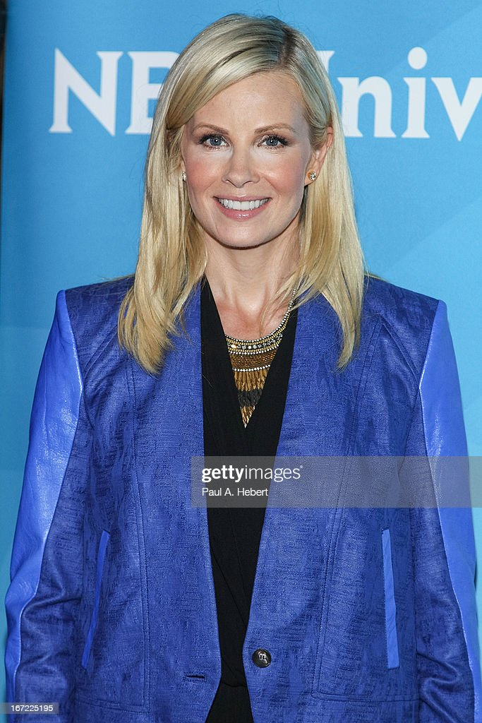 Monica Potter attends the 2013 NBCUniversal Summer Press Day held at The Langham Huntington Hotel and Spa on April 22, 2013 in Pasadena, California.