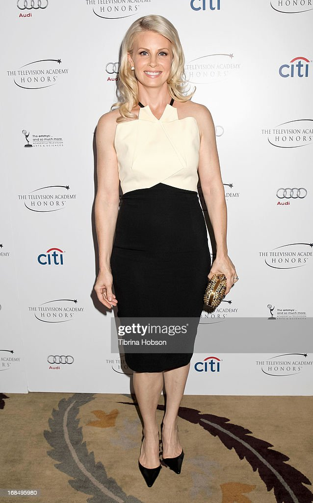 Monica Potter attends the 6th annual Television Academy Honors at Beverly Hills Hotel on May 9, 2013 in Beverly Hills, California.
