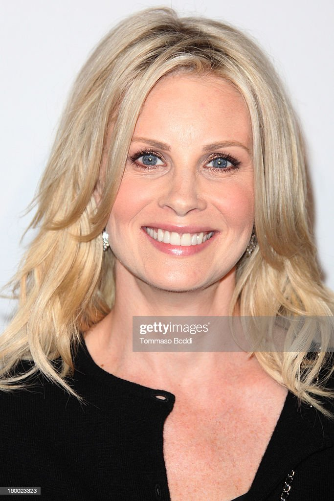 Monica Potter attends the ELLE Women in Television Celebration presented by Hearts on Fire Diamonds and Wella Professionals held at Soho House on January 24, 2013 in West Hollywood, California.