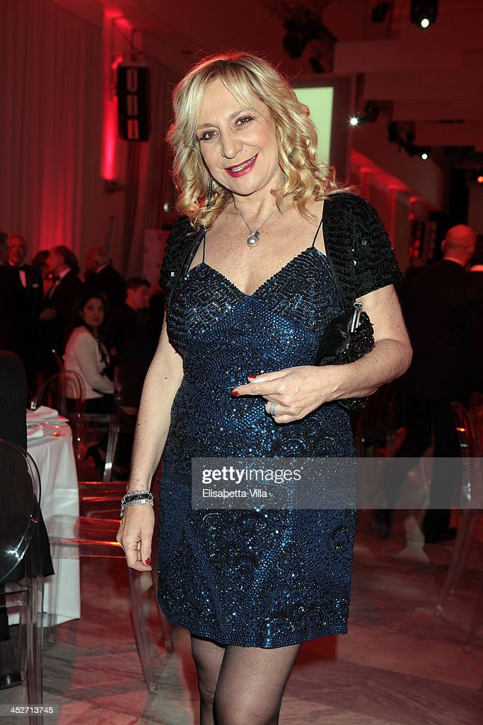 Monica Scattini attends The Children For Peace Benefit Gala Ceremony at Spazio Novecento on November 30, 2013 in Rome, Italy.