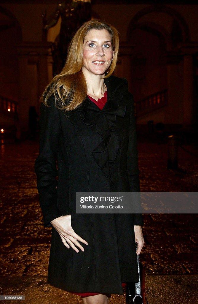 Monica Seles arrives at the Laureus Sport For Good Foundation Banquet held at Pinacoteca di Brera on November 18, 2010 in Milan, Italy.