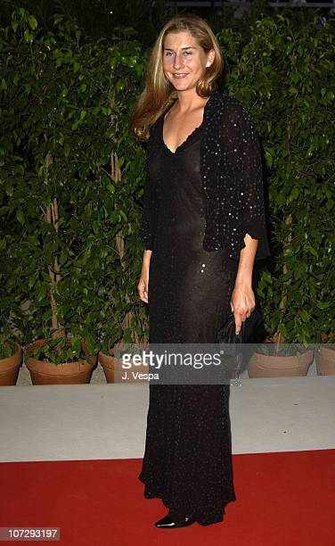 Monica Seles during 2003 Cannes Film Festival Cinema Against Aids 2003 to benefit amfAR sponsored by Miramax Arrivals at Le Moulin de Mougin in...