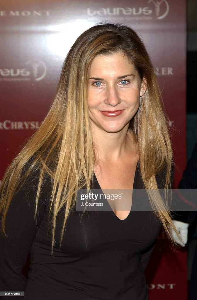 Monica Seles During Mercedes Benz Live Auction To Benefit