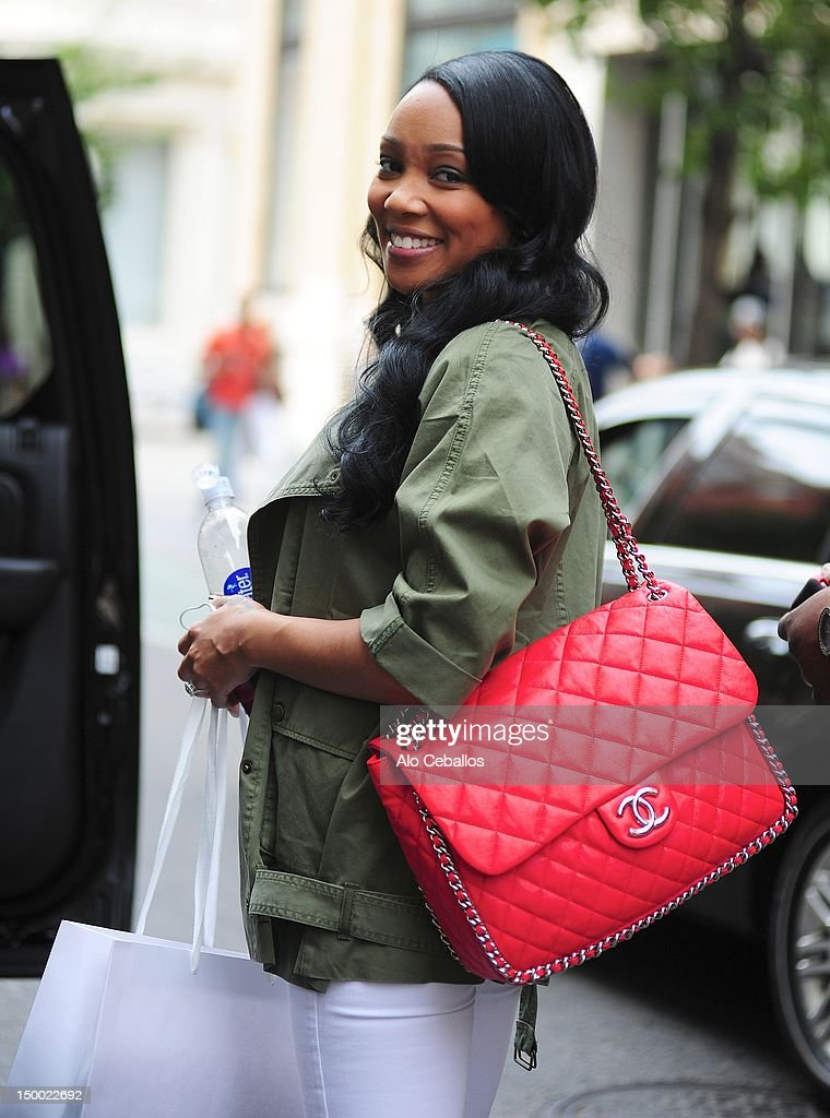 Monica sighting on August 8, 2012 in New York City.