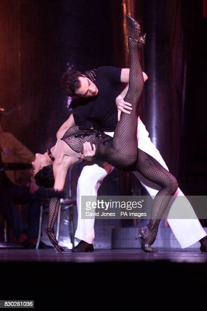 Monica Zamora and Joseph Sipolla dance in Birmingham Royal Ballet's production of 'Slaughter on 10th Avenue' performed until the 8th October as part...
