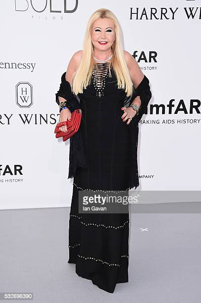 Monika Bacardi arrives at amfAR's 23rd Cinema Against AIDS Gala at Hotel du CapEdenRoc on May 19 2016 in Cap d'Antibes France