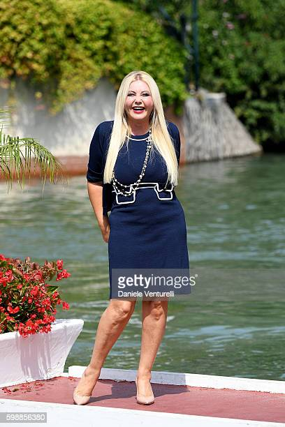 Monika Bacardi arrives at Lido during the 73rd Venice Film Festival on September 3 2016 in Venice Italy
