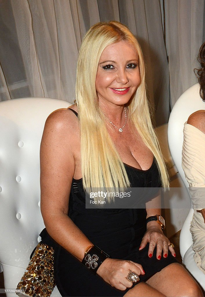 Monika Bacardi attends the Massimo Gargia's Birthday Dinner at Moulins de Ramatuelle on August 21, 2013 in Saint Tropez, France.