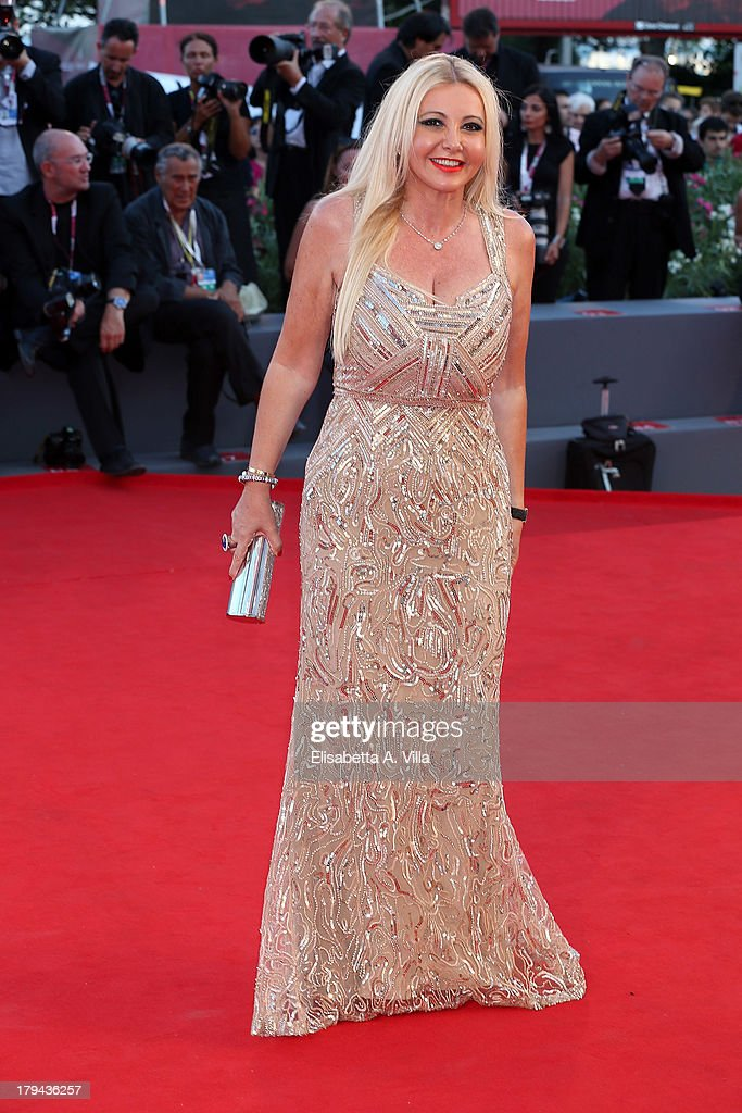 Monika Bacardi attends the 'Under The Skin' Premiere during the 70th Venice International Film Festival at Sala Grande on September 3, 2013 in Venice, Italy.