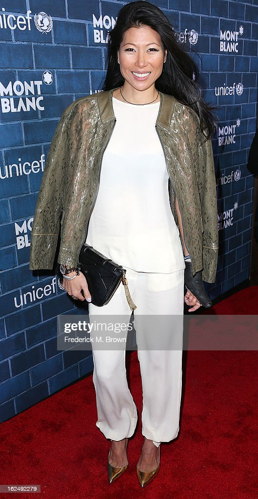 Monika Chiang attends the Montblanc And UNICEF Host Pre-Oscar Brunch Celebrating Their Limited Edition Collection at the Hotel Bel-Air on February 23, 2013 in Los Angeles, California.