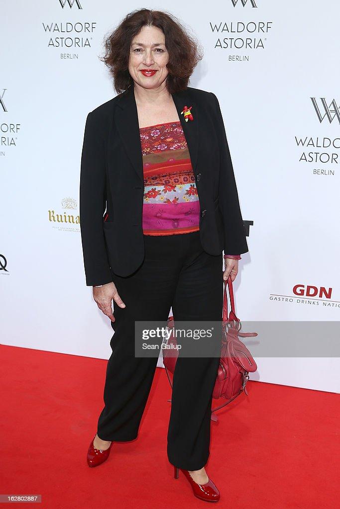 Monika Griefahn attends 'Waldorf Astoria Berlin Grand Opening' at Waldorf Astoria Berlin on February 27, 2013 in Berlin, Germany.