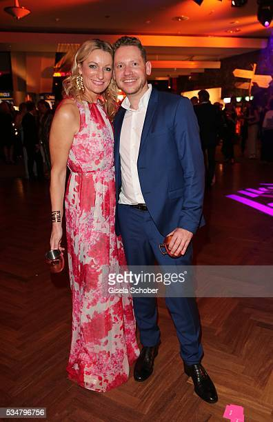Monika Gruber and director Marco Kreuzpaintner during the Lola German Film Award 2016 after show party at Palais am Funkturm on May 27 2016 in Berlin...