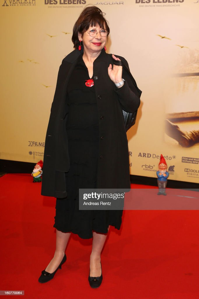 Monika Hansen attends 'Quelle des Lebens' Germany Premiere at Delphi Filmpalast on February 5, 2013 in Berlin, Germany.
