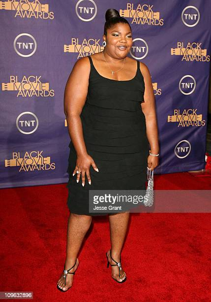 Mo'nique 12556_JG_0742jpg during 2006 TNT Black Movie Awards Arrivals at Wiltern Theatre in Los Angelses California United States