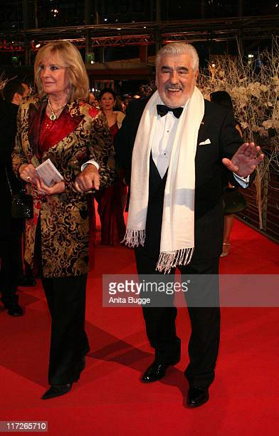 Monique Adorf and Mario Adorf during 57th Berlinale Film Festival Angel Inside Arrivals at Berlinale Palace in Berlin Berlin Germany